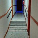 pasillo para la habitación