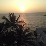 Nishal, the host, took us to the rooftop of one of the rooms to watch the sunset