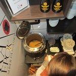 Miso soup at Ra Epok