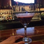 strawberry, chocolate martini
