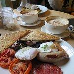 A great breakfast