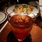 The Maker's Manhattan on the Rocks & the Fried Oysters!