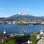 There are no better views in Lucerne.