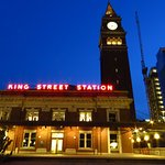 King Street Station night photo