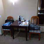 In Room Coffee and Dining Table