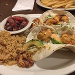 Bang bang shrimp tacos.....yummy!