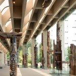 In the Great Hall, discover monumental First Nations sculptures from the Pacific Northwest.