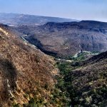 Big view of the Oblatos (Santiago) Canyon from here.