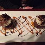 Meatball cupcakes & veal marsala