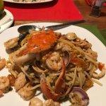 Frutti di Mara with shrimp added