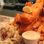 Fish and chips - Three Pieces