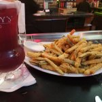 Fried Zucchini appetizer! HUGE serving only $4 during Happy Hour!