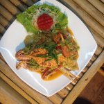 Crab with yellow curry powder