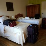 Std Double Room #2, bed very close