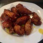 Chicken Wings w/ honey mustard