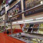 Salad bar at Scruby's