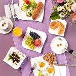 Frühstück in der Lounge
