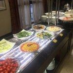 breakfast buffet bar