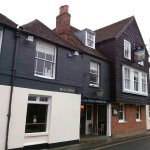 The Millers Arms, Canterbury - redecorated exterior Jan 2017
