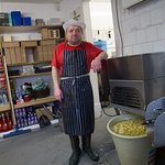 Paul, he makes all our chips everyday! and he's been doing it for over 20 years!