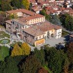 Vista aerea di Villa Cagnola
