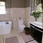 Kudu Luxury bathroom with bath and shower