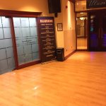 Gym Door next to the SMOKY CLUB