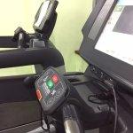 Broken Old Treadmill at the finest resort in Abu Dhabi