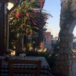 Good location, beautiful view, nice traditional cuisine
