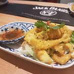 Thai Style Calamari with Saffron & Chilli Powder