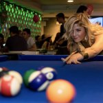 Shoot a game of pool