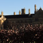 stately home visible from Batford arboretum
