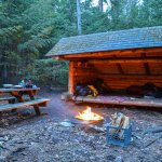 Wilderness Campground at Heart Lake Foto