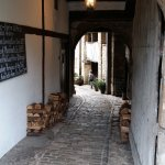 Leading to an inner courtyard