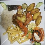 SPECIAL COD OCEAN FRONT WITH PRAWNS