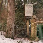 entrance to the trout farm
