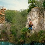 Ziplining on the highest, longest, and fastest zip lines in Florida located in Ocala/Marion Coun