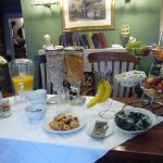 Breakfast starter buffet
