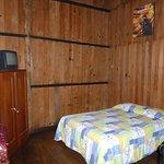 Basic rustic room