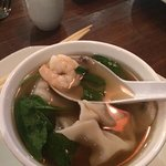 WonTon Soup - Pork Dumpling Shrimp in Broth