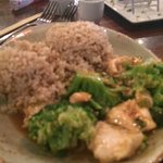 Ginger Chicken and Broccolli