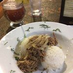 Kaluna pig bowl and a rum punch