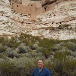 A stop on the interpretive trail