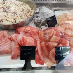 great choice of fresh fish