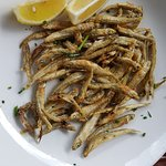 deepfried little white bait