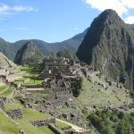 The view of Machu Pichu from the Sun Gate!