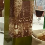 Olive oil with restaurant own lable