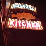 Coastal Kitchen sign.