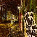 We visited national tunnel and Enlow tunnel. National is the wet tunnel and the absolute best. B