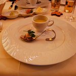 soup and appetizer